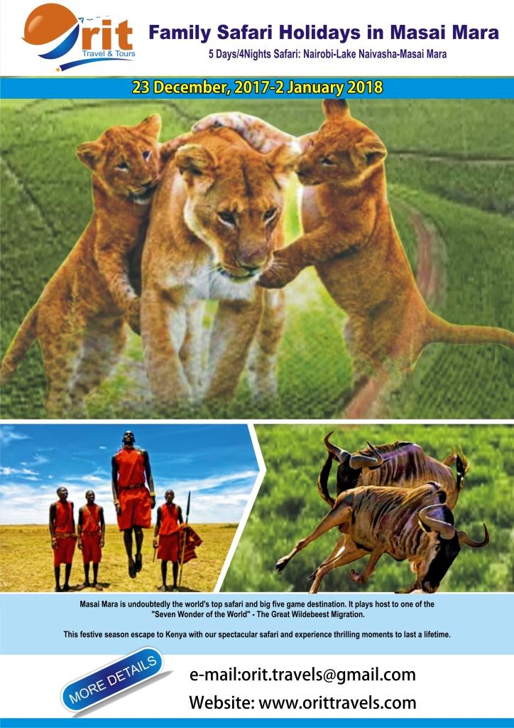 Family Holiday Masai 2017